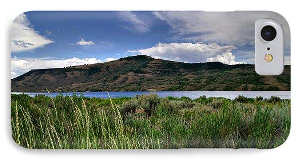 Blue Mesa Reservoir Phone Case by Michael Kirsh