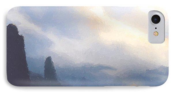Blue Mountains  Phone Case by Pixel  Chimp