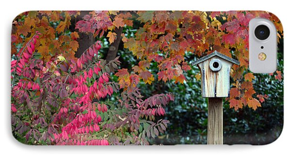 Bluebird House Color Surround Phone Case by Sandi OReilly