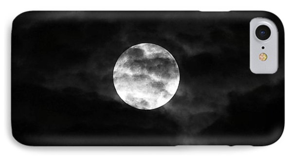 Blustery Blue Moon Phone Case by Al Powell Photography USA