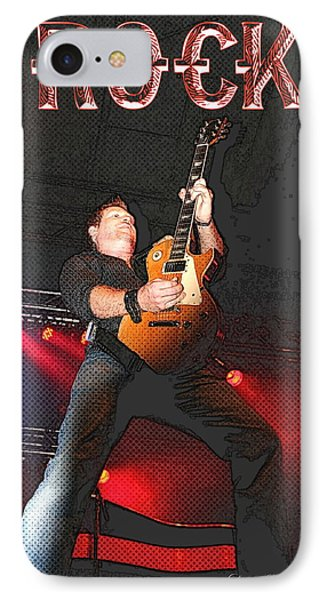 Bob Champoux Rock 1 IPhone Case by Danielle  Parent