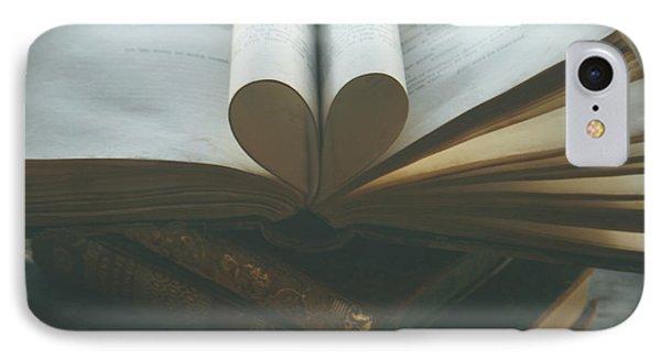 Book Lover IPhone Case by Georgia Fowler
