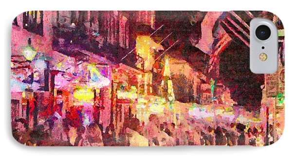 Bourbon Street IPhone Case by Anthony Caruso
