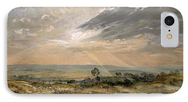 Branch Hill Pond Hampstead Phone Case by John Constable