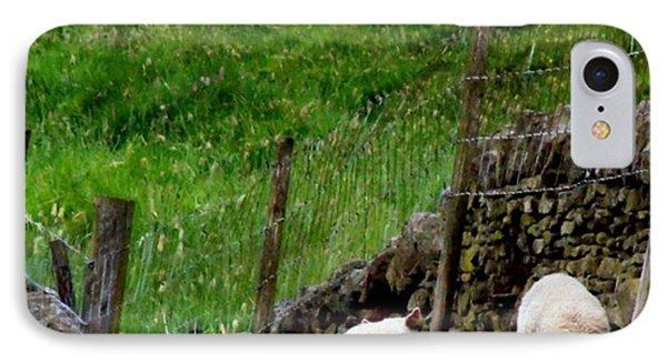 British Lamb Phone Case by Isabella Abbie Shores