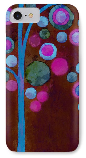 Bubble Tree - W02d IPhone Case by Variance Collections