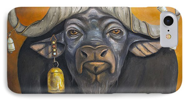 Buffalo Bells Phone Case by Leah Saulnier The Painting Maniac