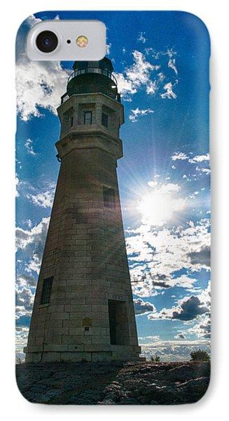 Buffalo Lighthouse 15717c Phone Case by Guy Whiteley