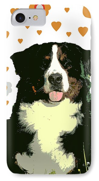 Burmese Mountain Dog Phone Case by One Rude Dawg Orcutt