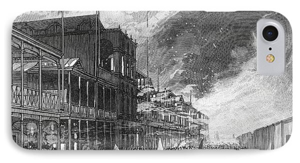 Burning Of Colon, 1885 Phone Case by Granger