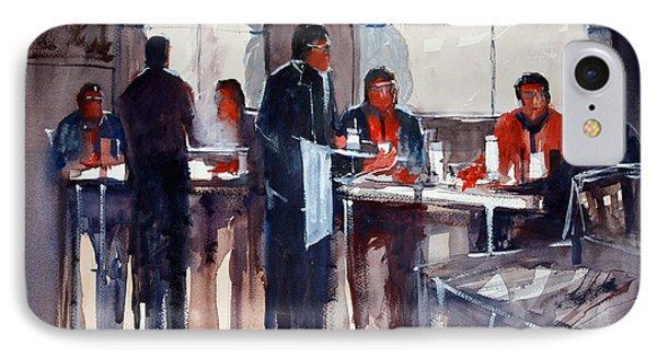 Business Lunch IPhone Case by Ryan Radke