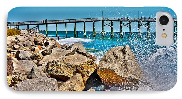 By The Pier IPhone Case by Betsy Knapp