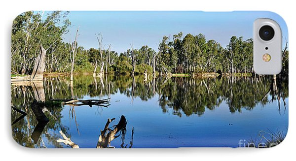 By The River Phone Case by Kaye Menner