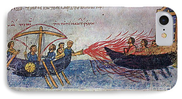 Byzantine Sailors  Phone Case by Photo Researchers