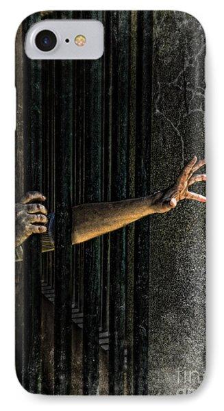 Caged 3 Phone Case by Jill Battaglia