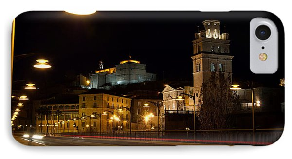 Calahorra Cathedral At Night Phone Case by RicardMN Photography