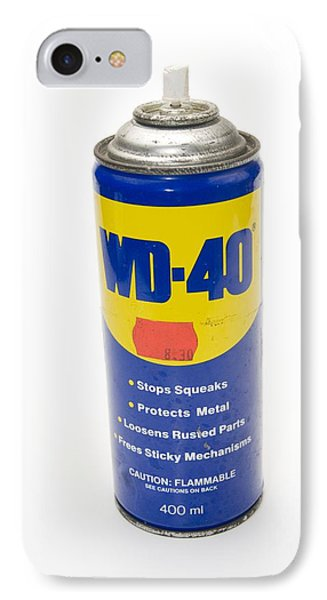 Can Of Wd-40 Oil IPhone Case by Photostock-israel
