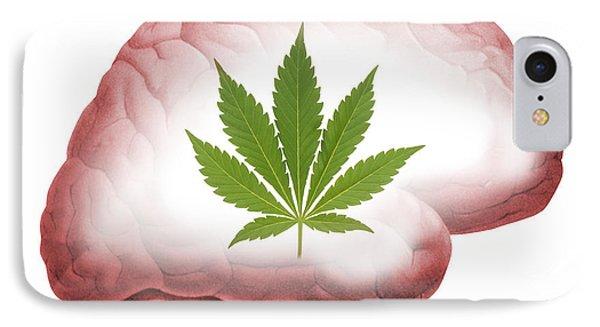 Cannabis Use, Artwork IPhone Case by Victor De Schwanberg