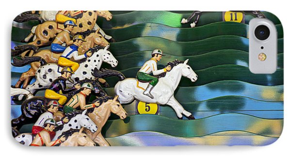 Carnival Horse Race Game Phone Case by Garry Gay