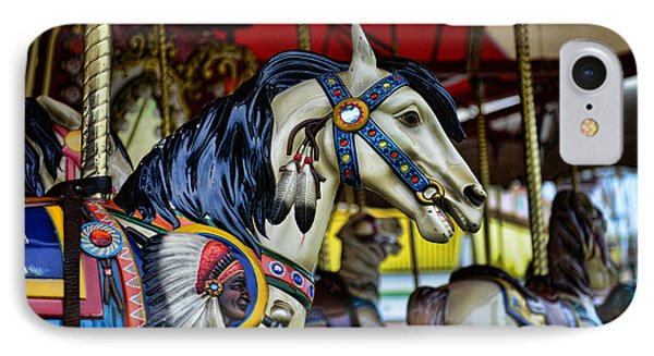 Carousel Horse 6 Phone Case by Paul Ward