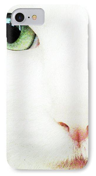 Cat Eye Phone Case by Julie Niemela