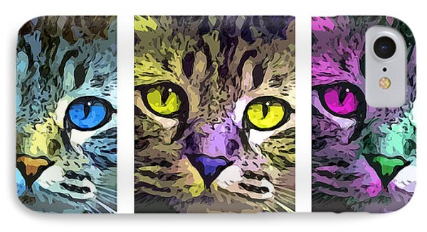 Cat IPhone Case by Stephen Younts