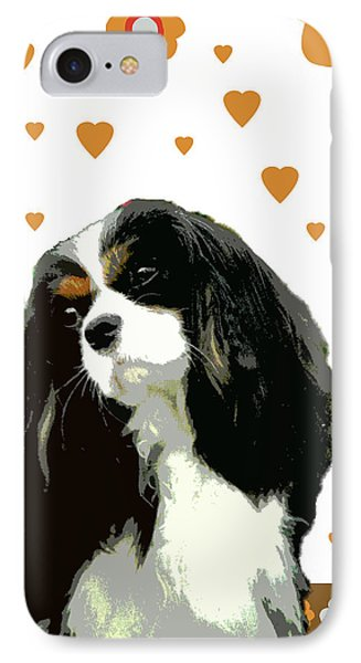 Cavalier King Charles Spaniel Phone Case by One Rude Dawg Orcutt