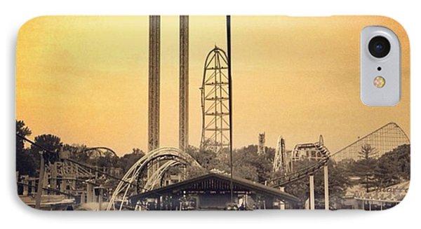 #cedarpoint #ohio #ohiogram #amazing IPhone Case by Pete Michaud