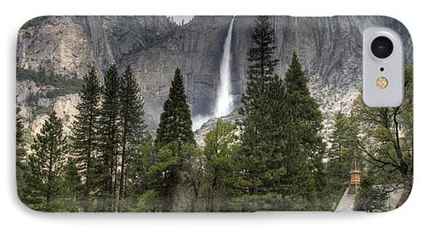 Chapel In The Valley Phone Case by Sue Karski