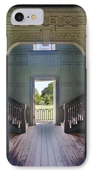 Charleston Drayton Hall 18th Century Phone Case by Rob Tilley