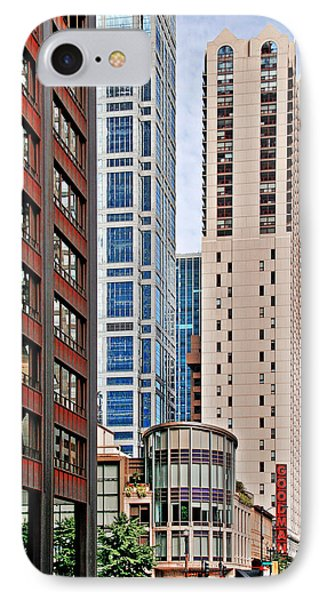 Chicago - Goodman Theatre Phone Case by Christine Till