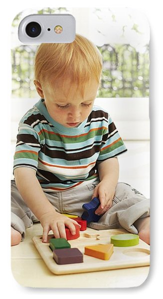 Childhood Development Phone Case by Ian Boddy