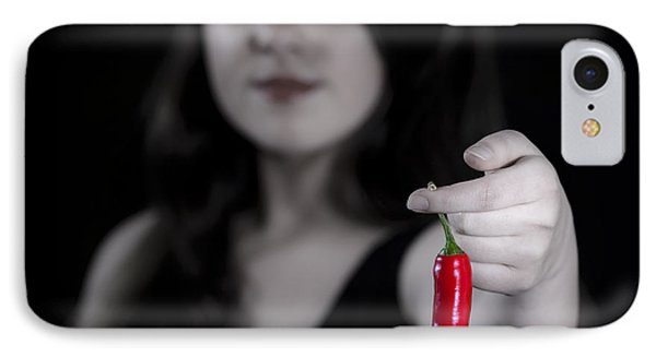Chillies Phone Case by Joana Kruse