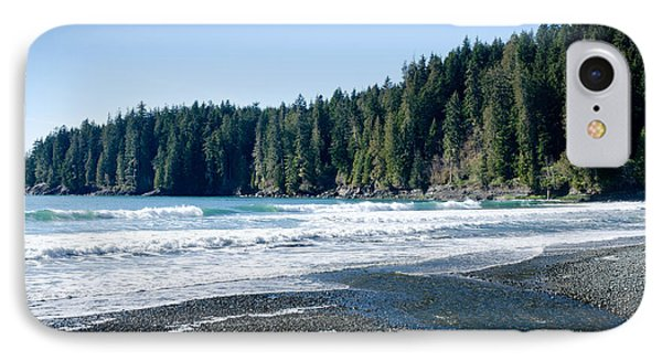 China Surf China Beach Juan De Fuca Provincial Park Bc Canada Phone Case by Andy Smy