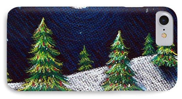 Christmas Trees II Phone Case by Nancy Mueller