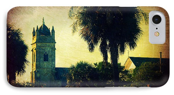 Church At Fort Moultrie Near Charleston Sc IPhone Case by Susanne Van Hulst