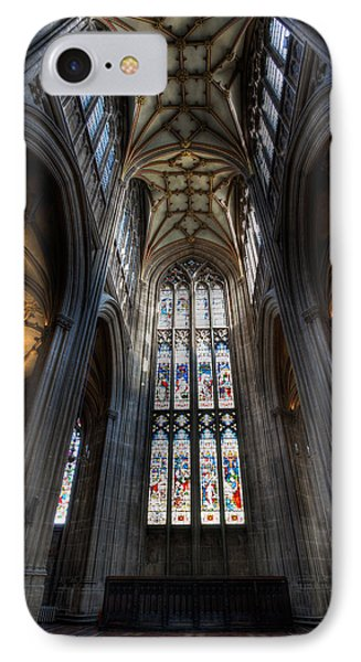 Church Interior Phone Case by Adrian Evans