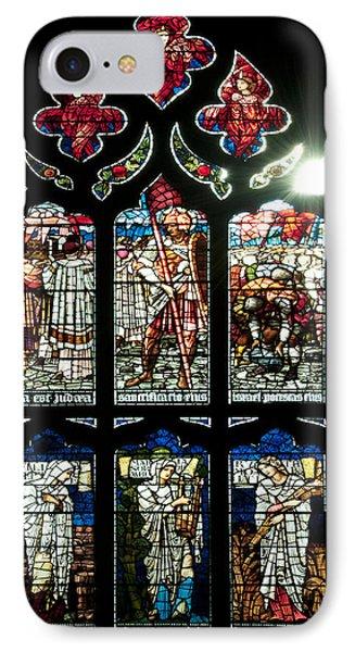 Church Window I Phone Case by Svetlana Sewell