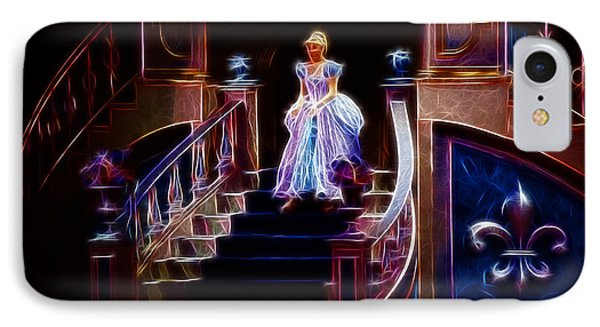 Cinderella Enters The Ball Phone Case by Darleen Stry