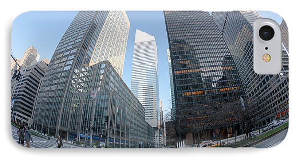 Citigroup Center From Park Avenue I Phone Case by Clarence Holmes