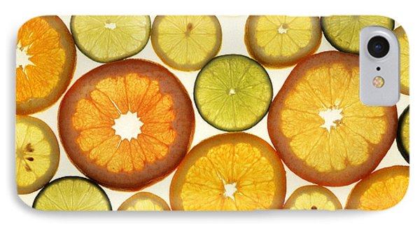 Citrus Slices IPhone Case by Photo Researchers