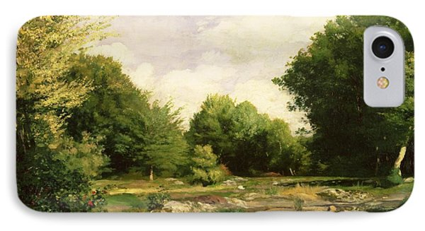 Clearing In The Woods Phone Case by Pierre Auguste Renoir