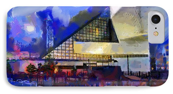 Cleveland Rocks IPhone Case by Anthony Caruso