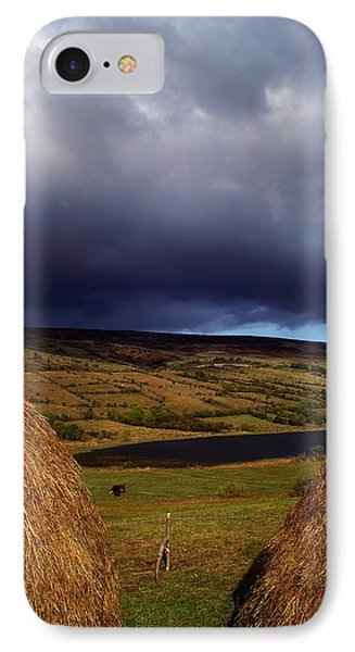 Co Cavan, Lake In West Cavan Mnts Phone Case by The Irish Image Collection