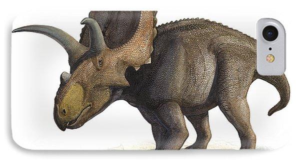 Coahuilaceratops Magnacuerna Phone Case by Sergey Krasovskiy