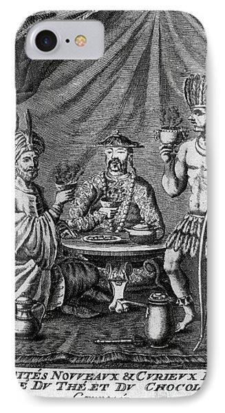 Coffee, Tea & Chocolate, 1685 Phone Case by Granger