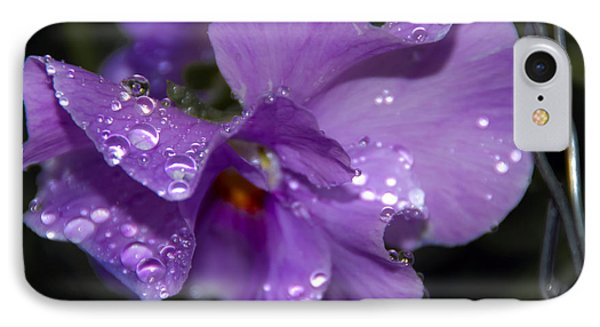 Collection Of Water Drops Phone Case by Svetlana Sewell
