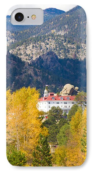 Colorado Estes Park Stanly Hotel Autumn View Phone Case by James BO  Insogna