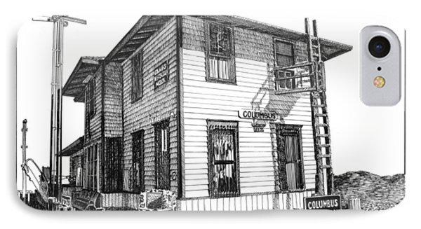 Columbus New Mexico  Phone Case by Jack Pumphrey