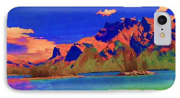 Complementary Mountains Phone Case by Jo-Anne Gazo-McKim